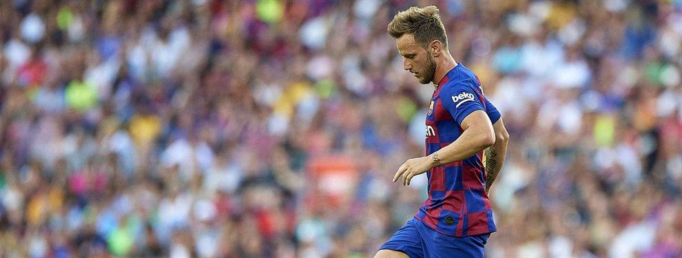 Ivan Rakitic puede salir del Barça este verano y ha cobrado fuerza la opción que tiene a la Juventus como protagonista