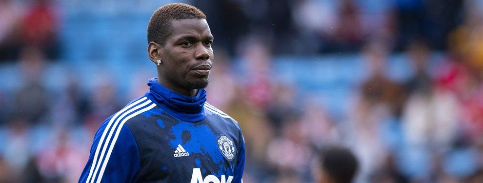 Paul Pogba mete prisa para que vayan a buscarle y lo saquen del Manchester United