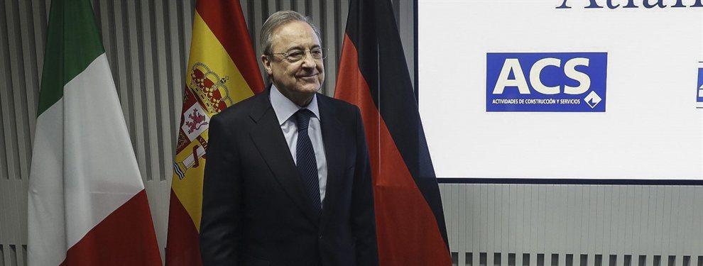 Florentino Pérez comienza a perder la paciencia con Eden Hazard y le presiona para que se ponga las pilas