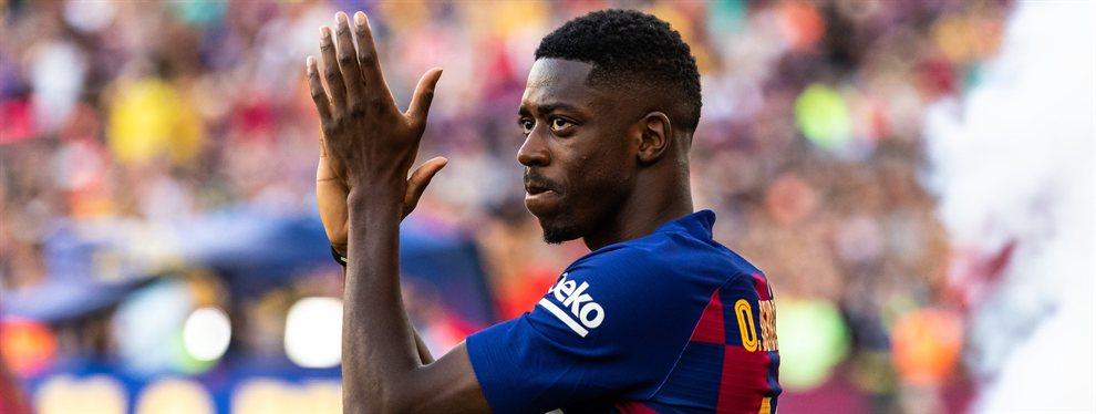 El Barça ha recibido una oferta del Bayern de Múnich por Ousmane Dembélé, que puede salir