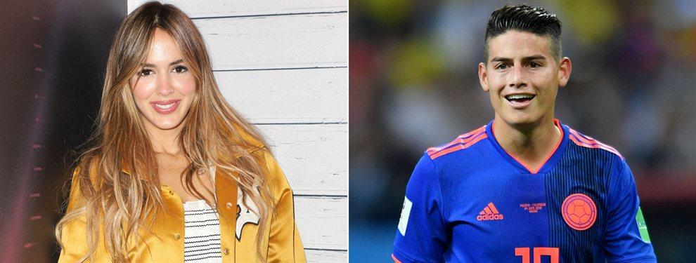 Shannon de Lima no le dejará irse a James Rodríguez donde él quiera, pues también tiene palabra