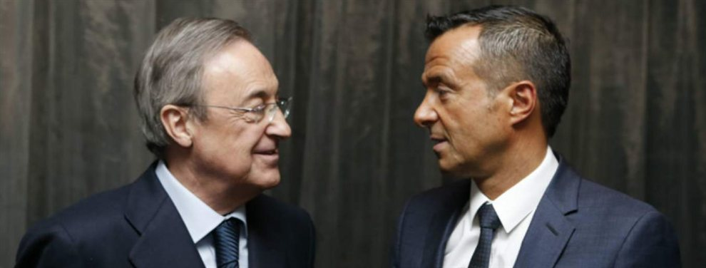 Jorge Mendes y Florentino Pérez hablaron del futuro de tres jugadores: James Rodríguez, Rubén Neves y Gonçalo Guedes
