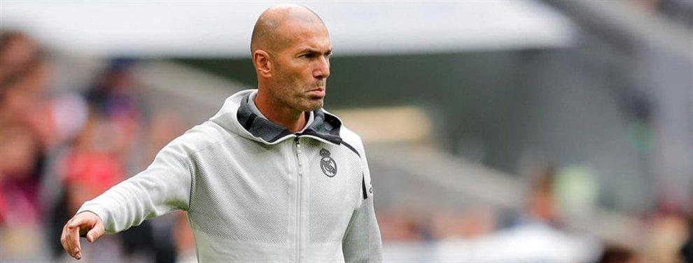Zinedine Zidane no quiere saber nada de Mauro Icardi y ha descartado su incorporación