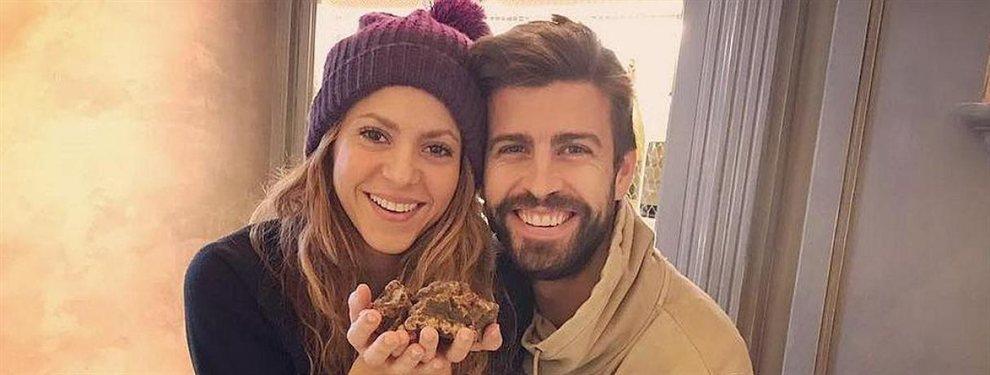 Shakira y Piqué compartieron una imagen antigua en la que aparecen de celebración
