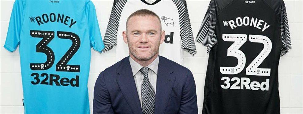 Wayne Rooney abandonará la MLS en 2020 y se sumará al Derby County como futbolista y ayudante de campo.