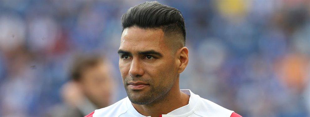 Radamel Falcao dejará el Mónaco y la Roma se ha interesado por él de cara a este verano