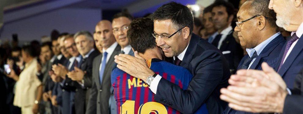 Messi y Bartomeu se las tienen tiesas desde el fichaje de Antoine Griezmann por el Barça