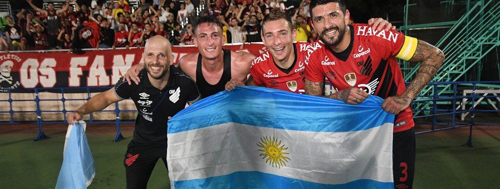 Cuatro futbolistas argentinos se coronaron campeones de la Suruga Bank con el Atlético Paranaense.