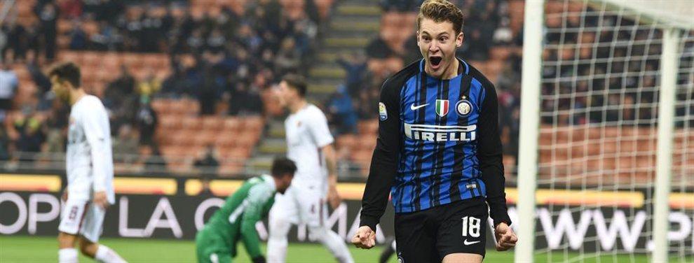 Facundo Colidio no cuenta con lugar en el Primer Equipo del Inter y podría ser transferido al Leeds de Marcelo Bielsa.