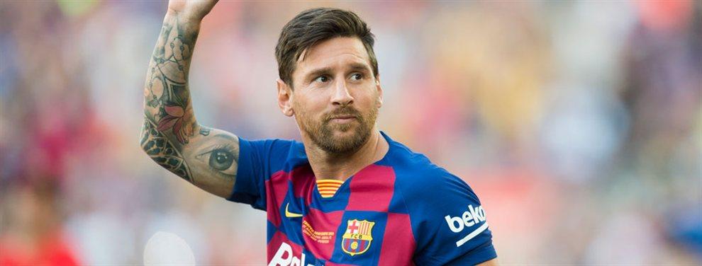 Leo Messi ha aceptado la salida de Arturo Vidal y ha pedido el ascenso de Riqui Puig