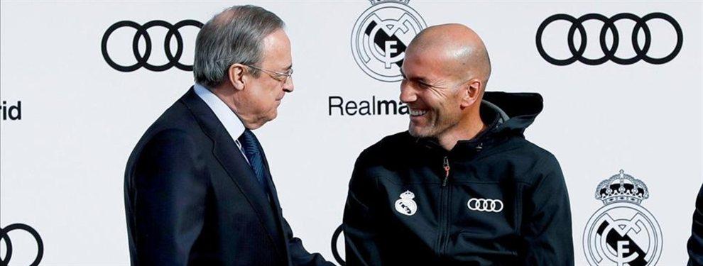 Zinedine Zidane no quiere saber nada de Neymar Junior y ha pedido a Florentino Pérez que frene su llegada
