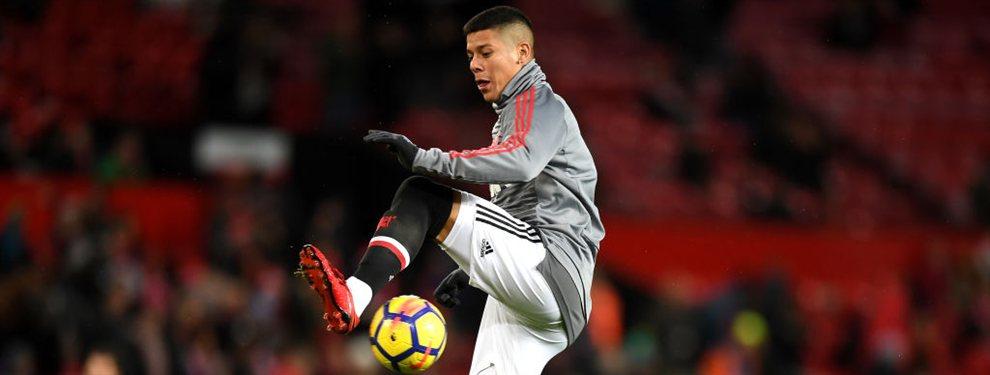 Marcos Rojo no tendrá lugar en el Manchester United y habría solicitado ser transferido en el último día.