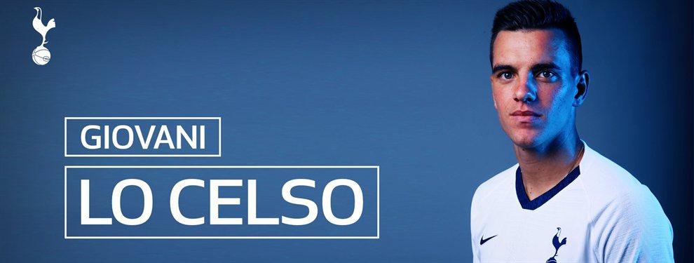 El Tottenham anuncio la contratación a préstamo y con opción de compra de Giovani Lo Celso.