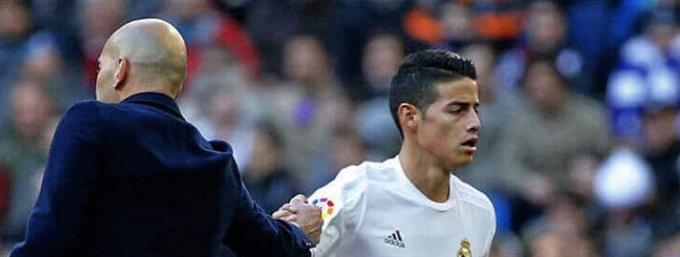 James Rodríguez busca equipo y ha recibido la llamada del astro argentino para irse a jugar a Italia.