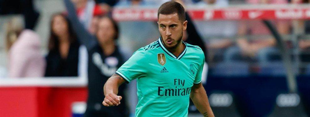 El Real Madrid ya tiene dorsal para Eden Hazard, el '7' que dejará libre Mariano Díaz