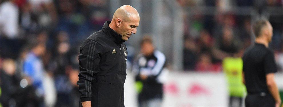 A Zinedine Zidane no le ha quedado otra que olvidarse de Paul Pogba y centrarse en otra estrella