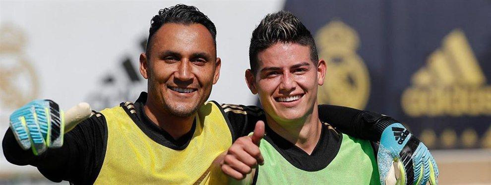 James Rodríguez sigue buscando una salida del Real Madrid y la Juventus se ha posicionado por él