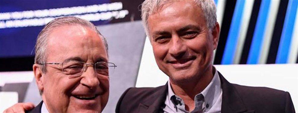 Mourinho quiere volver al Real Madrid y Florentino ya ha recogido el guante del portugués.