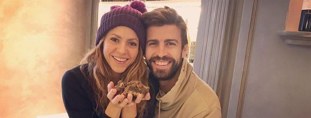 Gerard Piqué y Clarissa Molina se tomaron una foto juntos, que desató celos en Shakira...