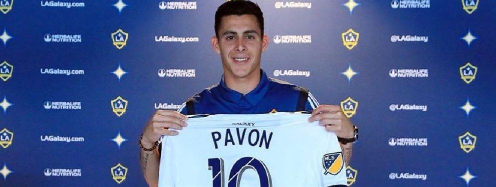 Cristian Pavón fue presentado en Los Angeles Galaxy y se convirtió en el futbolista argentino número 32 de la MLS.
