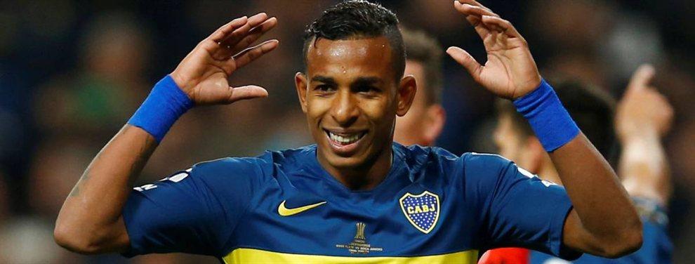 Boca actualizó el contrato de Sebastián Villa, quien ahora tendrá una cláusula de rescisión de 30 millones de dólares.