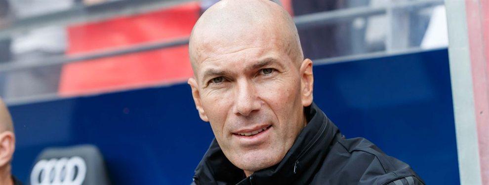 El cierre del mercado en la Premier League le tumbó gran parte de la idea que traía Zidane para el armado de su nuevo proyecto.