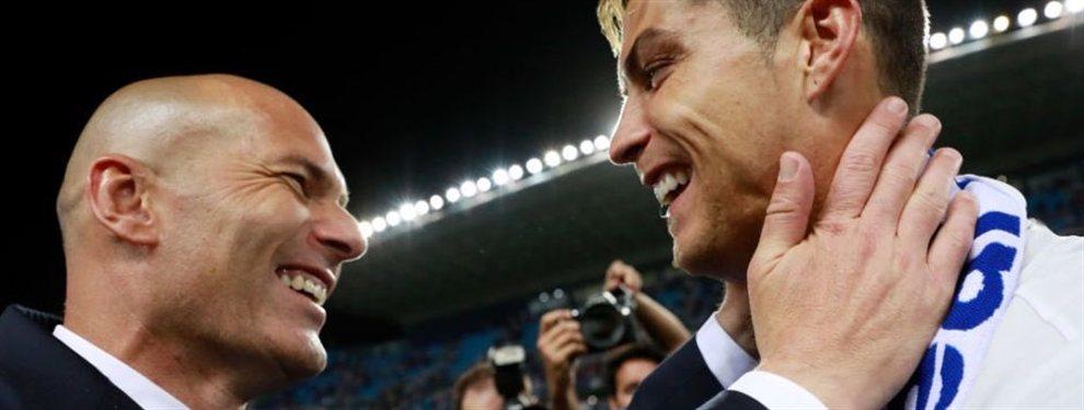 Cristiano Ronaldo traiciona a Zinedine Zidane ¡donde más le duele!: La Juventus mueve ficha por un intocable de 'Zizou' ¡y Mino Raiola está en el ajo!