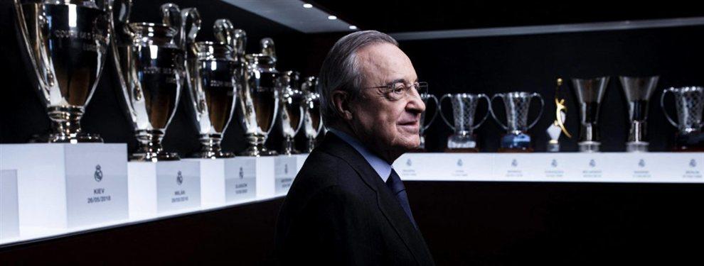 Florentino Pérez sabe que necesita dar un golpe en el mercado de fichajes ya que la plantilla del Real Madrid no ilusiona .