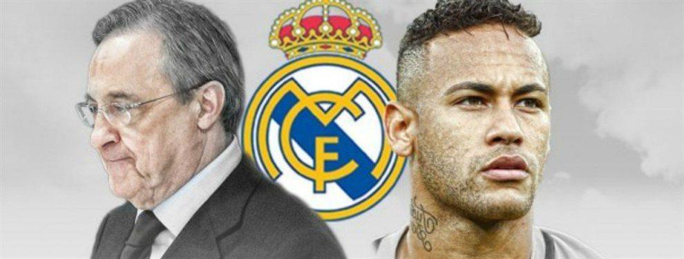 Ya hay oferta de Florentino Pérez por Neymar (y es muy bestia): golpe de efecto al Barça y al mercado europeo, que no se lo cree
