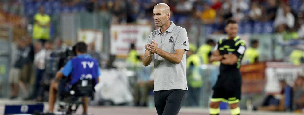 Zinedine Zidane explotó contra Luka Jovic y Eder Militao tras el amistoso contra la Roma