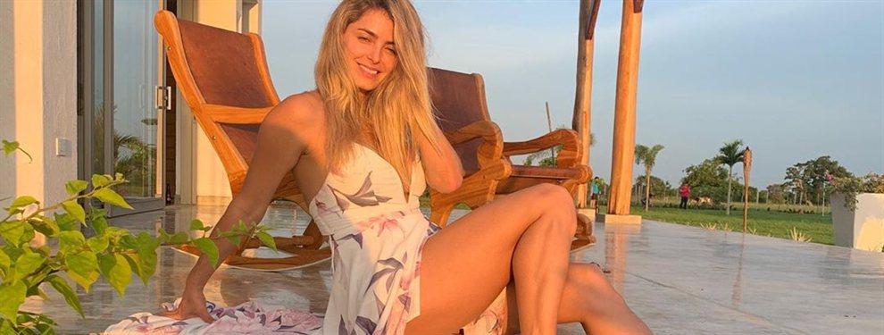 El descuido de Cristina Hurtado que ¡muestra lo que hay debajo de la falda!: ¡Cuidado al sentarte!, ¡madre mía, vaya piernas que tienes, Cris!
