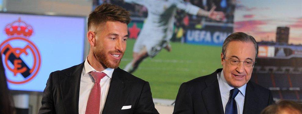 Sergio Ramos reprochó a Eden Hazard su pobre rendimiento y actitud en el Real Madrid