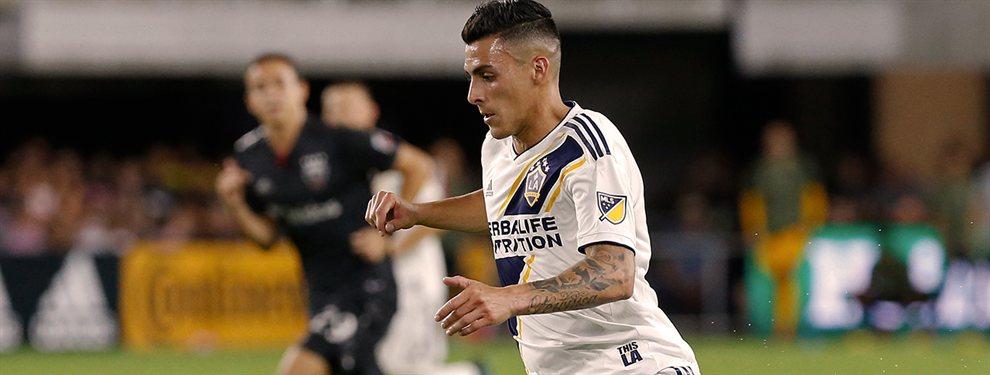 Cristian Pavón realizó su debut oficial en Los Angeles Galaxy de Guillermo Barros Schelotto, que perdieron ante el DC United.