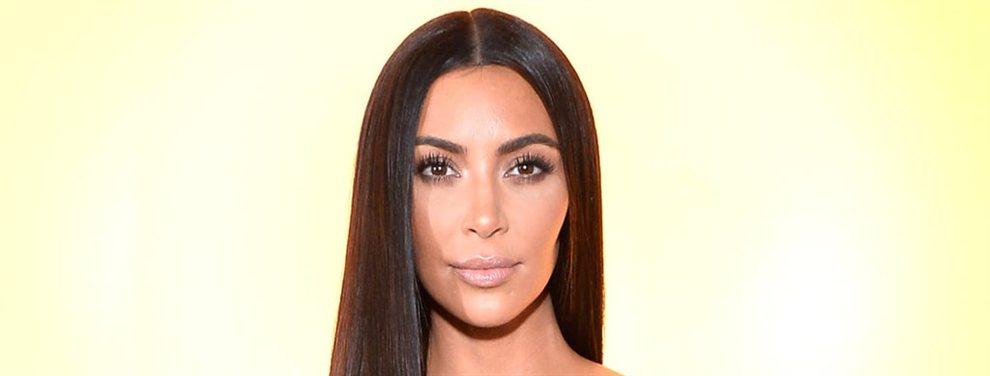 Kim Kardashian aparecía con una imagen sorprendente en la que aparecía sin nada debajo de su camiseta
