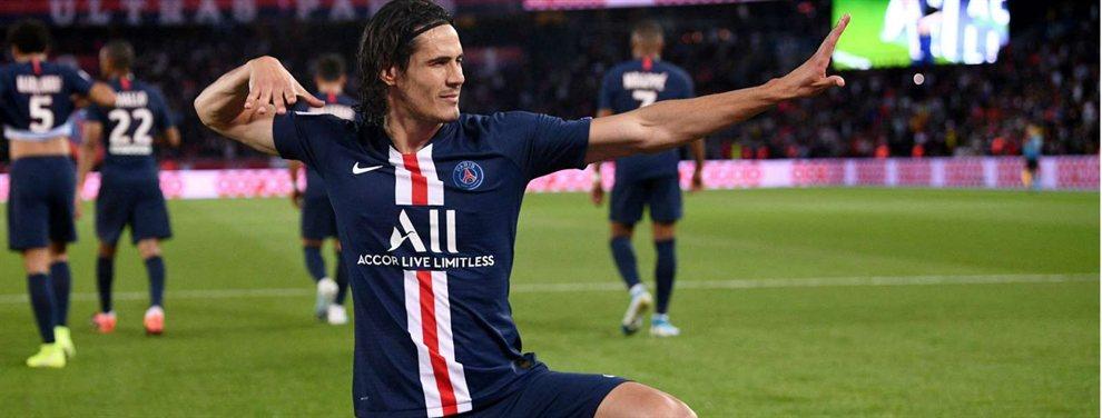 Edinson Cavani podría ser compañero de dos futbolistas argentinos en el Inter Miami de la MLS a partir del 2020.