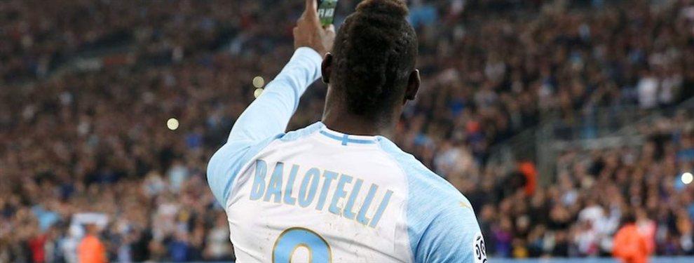 Mario Balotelli habría puesto como condición para firmar con el Flamengo que contrataran a su hermano menor.