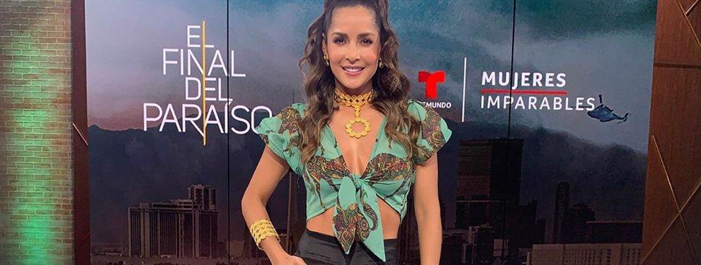 ¡El top más diminuto de Carmen Villalobos incendia Nueva York!: ¡Ni Natti Natasha!, la actriz destroza Instagram en el día dominicano con su look atrevido
