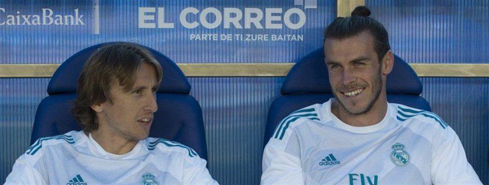 Gareth Bale no entiende como Luka Modric ha podido hacer algo así y se muestra decepcionado