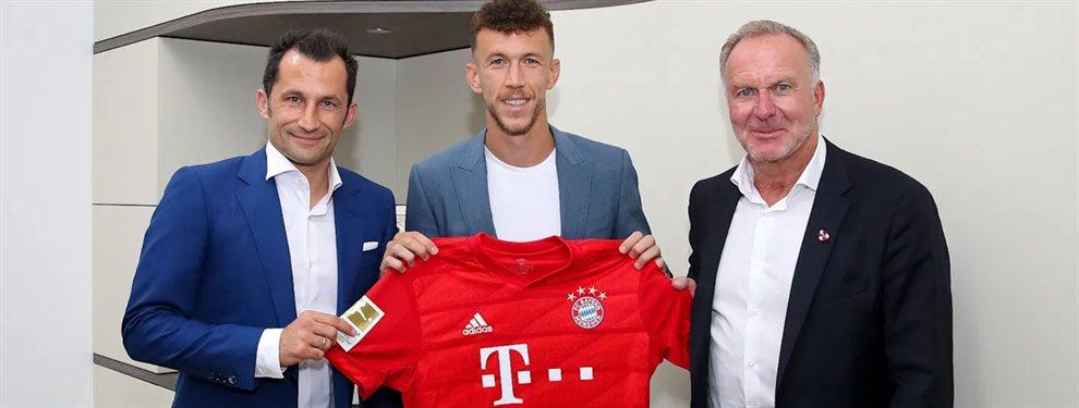 Iván Perisic, el subcampeón del mundo con Croacia que arribó al Bayern Munich como última opción.