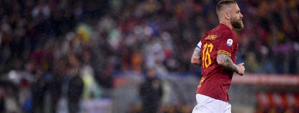 Daniele De Rossi volverá a jugar un partido oficial luego de una larga inactividad tras su último encuentro con la Roma.