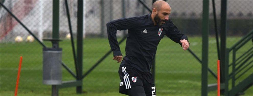 Javier Pinola continúa entrenando de manera diferenciada y aún no se sabe si podrá jugar ante Cerro Porteño por la Copa Libertadores.