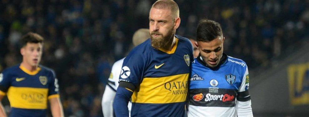 Boca y Almagro se enfrentaron por los 16avos de final de la Copa Argentina. Daniele De Rossi convirtió para el Xeneize.
