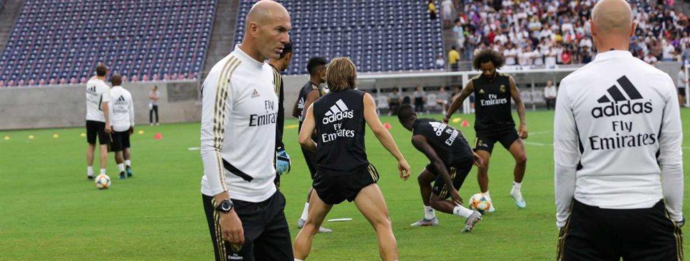 Donny van de Beek ha dicho 'no' a última hora al Real Madrid, después de ver como Zidane no confía en él