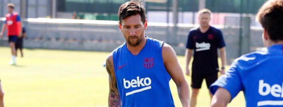 Leo Messi sabe que tres jugadores eran del Real Madrid: Philippe Coutinho, Antoine Griezmann y Neymar Junior
