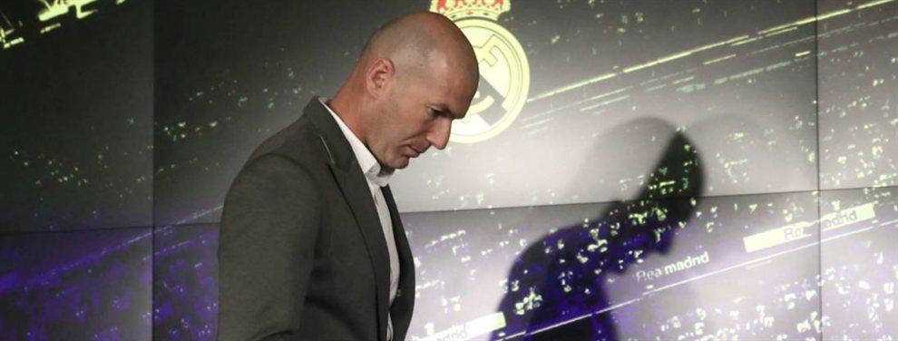 Zinedine Zidane está muy indignado por la no llegada de Paul Pogba y ha vetado a Eriksen y Van de Beek