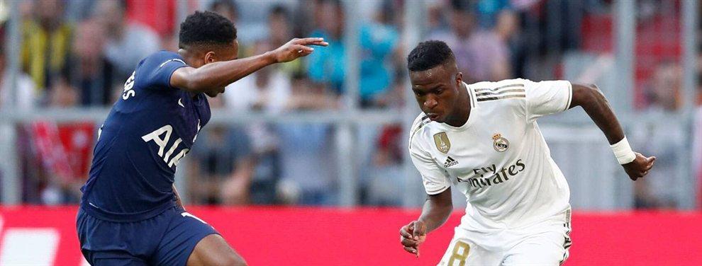 Vinicius Junior ha pedido salir cedido del Real Madrid, donde no tendrá minutos, y puede acabar en el Valladolid