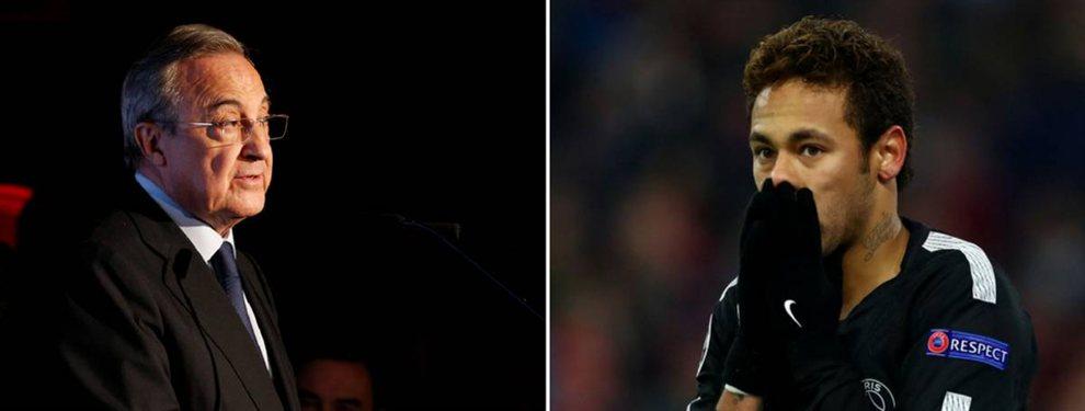 Florentino Pérez ha impuesto una serie de condiciones a Neymar Junior para que acabe en el Real Madrid