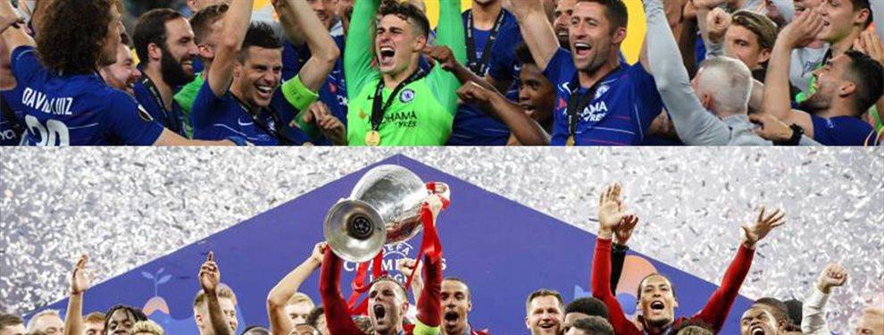 El Real Madrid seguirá el Liverpool-Chelsea para no perder detalle de las evoluciones de Mané, Salah y Kanté