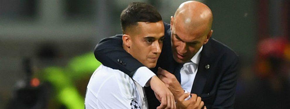 Zinedine Zidane ha paralizado la salida de Lucas Vázquez del Real Madrid rumbo al Celta de Vigo