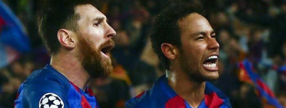 No parece que a la leyenda del Barça le escueza que finalmente Neymar recale en el Real Madrid